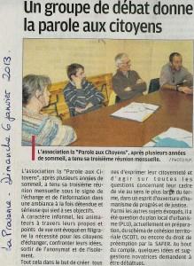 La Provence 06 01 2013
