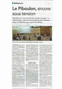 article régional