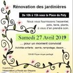 Jardinons Mallemort affiche 2019