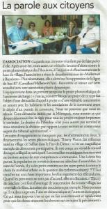 Article Le régional 7-08-2019