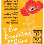 affiche Ecorencontres 2019
