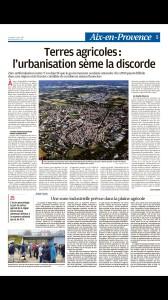 Terres vives La Provence 23 avril 2021