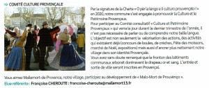 Comité culture et patrimoine provençaux