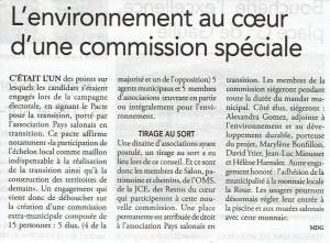 commission environnement Salon